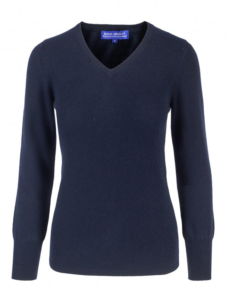Cashmere genser v hals Cashmere House